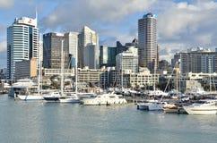 Auckland Harbor, New Zealand Stock Photos