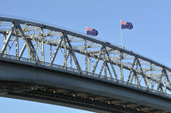 Auckland Harbour Bridge - New Zealand Stock Photography