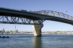 Auckland Harbour Bridge - New Zealand Royalty Free Stock Images
