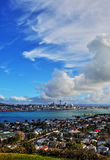 Auckland Harbour Stock Image
