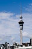 Auckland himmeltorn Nya Zeeland Arkivfoto