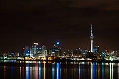 Auckland horisont Royaltyfria Bilder