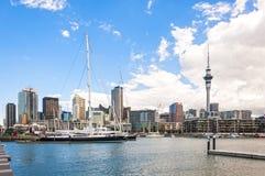 Auckland horisont Royaltyfri Fotografi