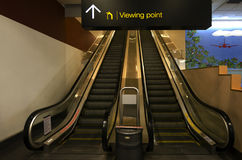 Auckland international airport viewing point Stock Photography