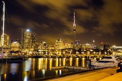 Auckland: La città delle vele fotografie stock