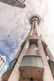 Auckland, la nouvelle Zélande 12 décembre 2013 Fam de tour de ciel d'Auckland Photos stock