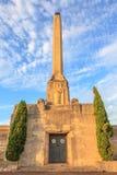 Auckland, la nuova Zelanda 10 dicembre 2013 Obelisco sulla sommità Fotografie Stock