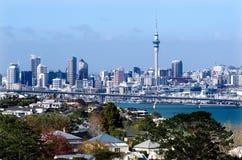 Auckland linia horyzontu obrazy royalty free