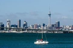 Auckland linia horyzontu Zdjęcia Stock