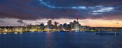 Auckland linia horyzontu Obraz Stock
