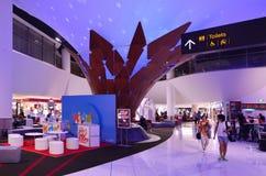 Auckland lotnisko międzynarodowe Obrazy Royalty Free