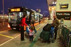 Auckland lotnisko - Nowa Zelandia Fotografia Stock