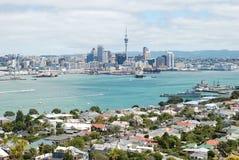 Auckland miasta linii horyzontu widok Zdjęcia Royalty Free