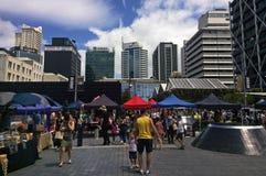 Auckland miasta rolników rynek - Nowa Zelandia Zdjęcie Stock