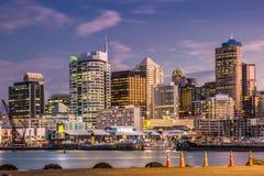 Auckland miasta widok zdjęcia royalty free