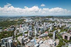 Auckland miasta widok od nieba wierza zdjęcia stock