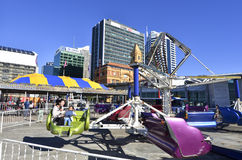 Auckland nabrzeże - Nowa Zelandia Fotografia Stock