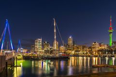 Auckland city view Royalty Free Stock Photography