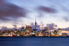 Auckland New Zealand Royaltyfri Bild