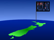 Auckland New Zealand Royalty Free Stock Photos