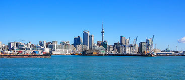 auckland New Zealand Arkivfoton