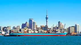 auckland New Zealand Royaltyfria Foton