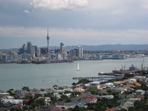 auckland New Zealand arkivbilder
