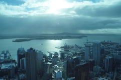 auckland New Zealand fotografering för bildbyråer