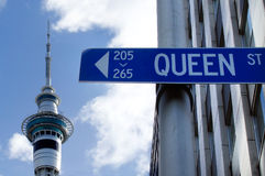 Auckland New Zealand Cityscape Stock Photos
