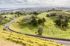 Auckland, New Zealand- December 1, 2013. Landscape view of one t Stock Image