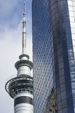 AUCKLAND, NEW ZEALAND - NOV 24 2014: 328 metres (1,076 ft) tall Royalty Free Stock Photos