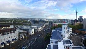 Auckland New Zealand Skyline Stock Photography