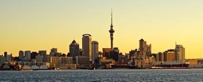 Auckland, New Zealand panorama Royalty Free Stock Photos
