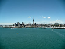 Auckland New Zealand. A view of Auckland New Zealand from Auckland Harbour Bridge Stock Photography
