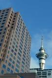 Auckland nieba wierza Nowa Zelandia Obrazy Stock