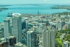 Auckland, Nieuw Zeeland 12 December, 2013 Auckland'shaven vi Stock Foto