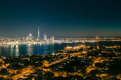 Auckland Night-scape Royalty Free Stock Image