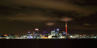 Auckland Nightscape images stock