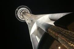 auckland nocnego nieba wieży Obraz Royalty Free