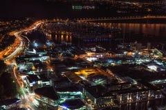 Auckland nocy widok Obraz Stock
