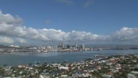 Auckland, Nouvelle Zélande banque de vidéos