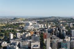 AUCKLAND, NOVA ZELÂNDIA - 27 DE DEZEMBRO: O panor do porto de Auckland foto de stock royalty free