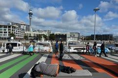 Auckland Nowa Zelandia - Zdjęcia Royalty Free