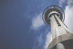 AUCKLAND NOWA ZELANDIA, NOV, - 24 2014: 328 metres wysokich (1.076 ft) Obraz Stock