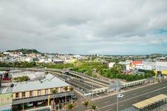 Auckland, Nowa Zelandia przy dniem zdjęcia royalty free