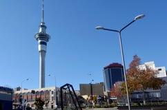 auckland nowy nieba wierza Zealand Obraz Royalty Free
