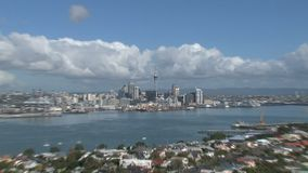 Auckland, Nueva Zelandia almacen de metraje de vídeo
