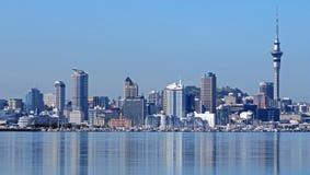 Auckland odbicie przez wodę Obraz Royalty Free