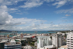 Auckland panoramic view Royalty Free Stock Images