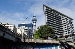 Auckland pejzaż miejski Obraz Royalty Free